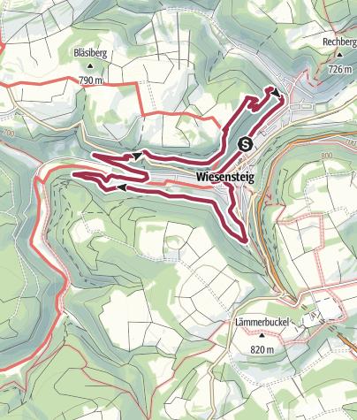 Karte / Panorama Rundweg