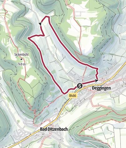 Karte / Panoramaweg