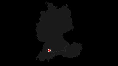 Map / Lake Constance circular trail: hiking around the lake
