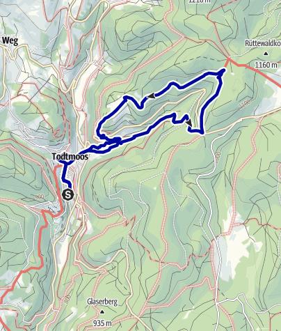 Karte / Mythische Orte am Oberrhein - Die hilfreiche Mutter