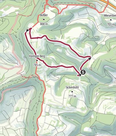 Karte / Wolfbühl-Runde