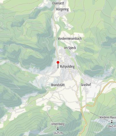 Karte / Panoramatafel - Steinbach Loipe