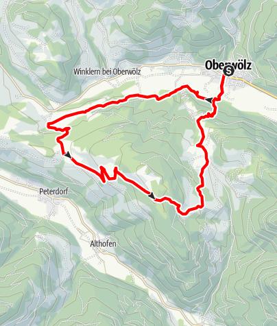 Karte / 3er-Weg (Eichbergrunde; Weg 3)