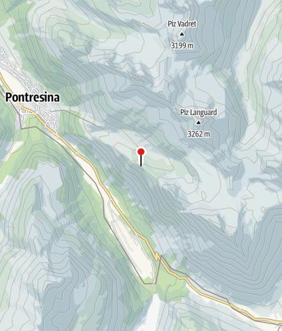 Map / Paradis hut