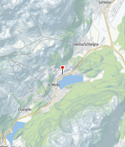 Karte / Skiservice Corvatsch Network, Hotel Badrutt's Palace
