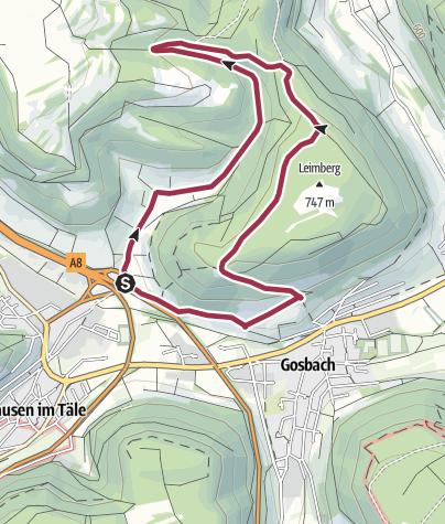 Karte / Schönbachweg