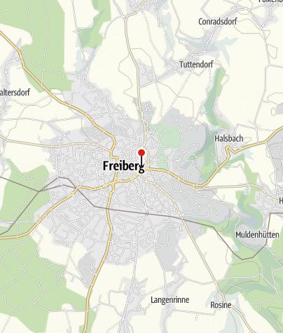 Karte / Meywaytours Freiberg