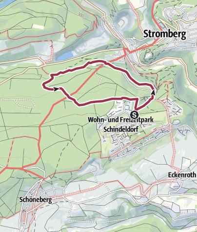 Karte / Rundweg Panoramabad