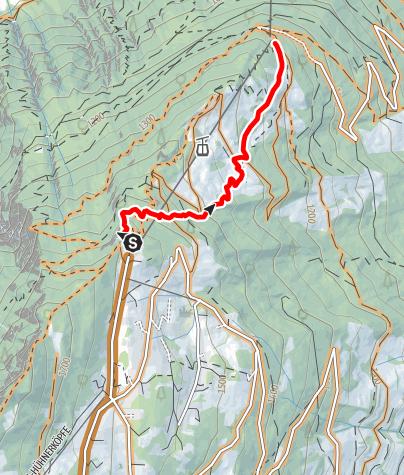Karte / 702 Alpenride