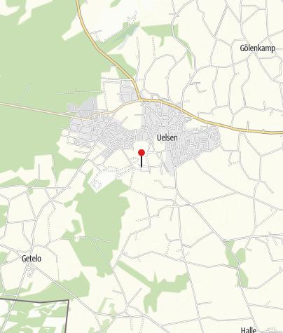 Karte / Ferienhaus am Waldbad