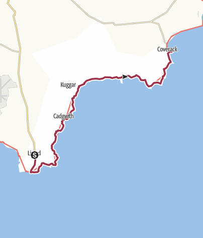 Map / Lizard to Coverack