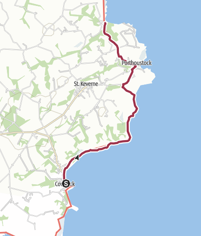 Map / Coverack to Porthallow