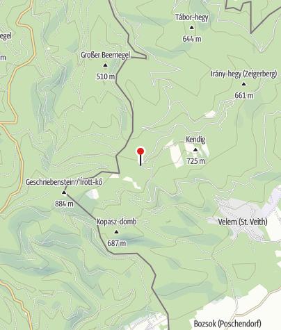 Térkép / Hörmann-forrás (nem ivóvíz!)