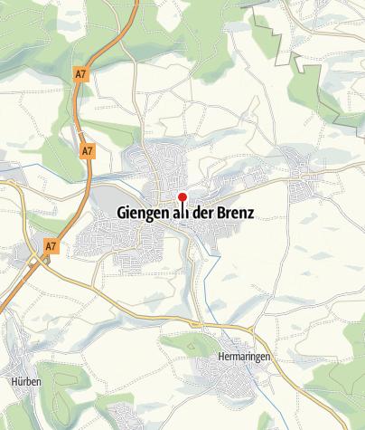 Karte / Giengen Stadtmitte