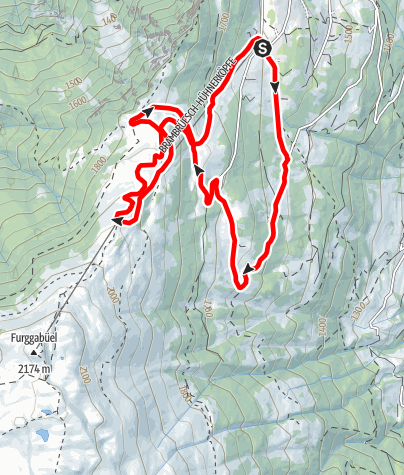 Karte / Fun Trail KURZA