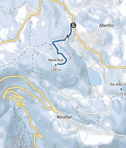 Mappa / Passeggiata al Rust