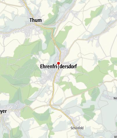 Karte / Ehrenfriedersdorf