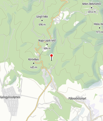 Térkép / Máriácska zarándokhely (Mátrafüred)