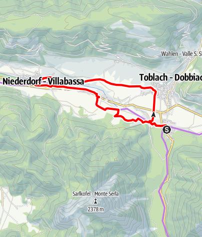 Karte / FATBIKE NIEDERDORF/VILLABASSA