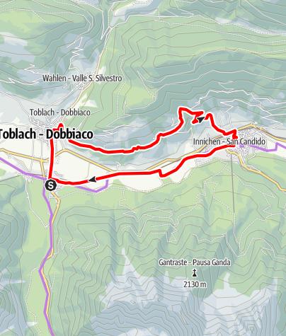 Karte / Fatbike Innichen/San Candido