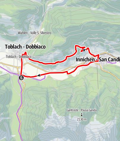 Mappa / Fatbike Innichen/San Candido