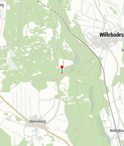 Kaart / Alte Eisenbahn Schutzhütte (Rettungspunkt 18)