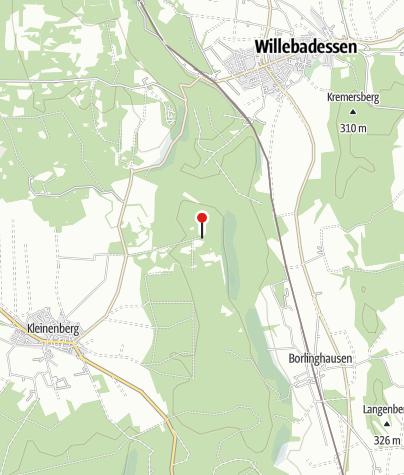 Karte / Krollhütte (Rettungspunkt 19)