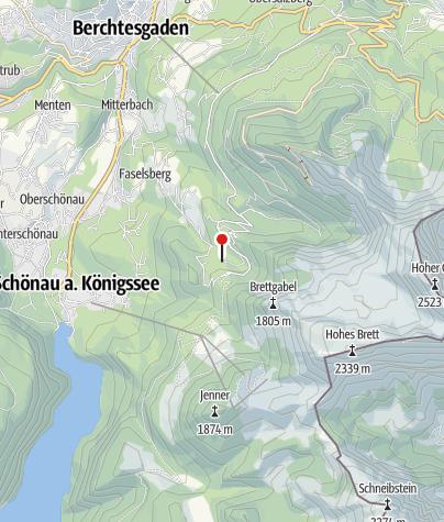 Karte / Berggasthof Alpeltalhütte