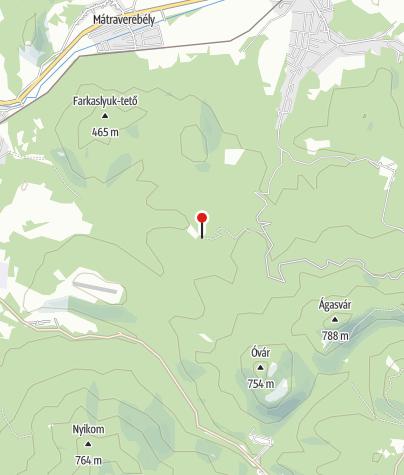 Térkép / Fenyvespusztai Erdészeti Erdei Iskola