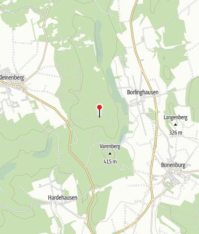 Kaart / Borlinghauser Hütte (Rettungspunkt 20)