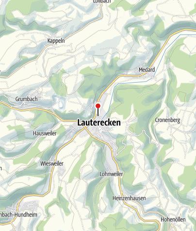 Karte / Ferienwohnungen im Brauhaus Lauterecken