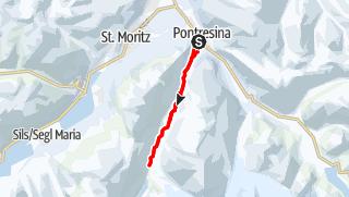 Karte / 264 Rosegtal-Loipe