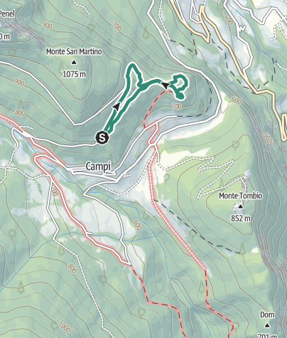 Map / Hidden Treasures: The Chestnut Trail