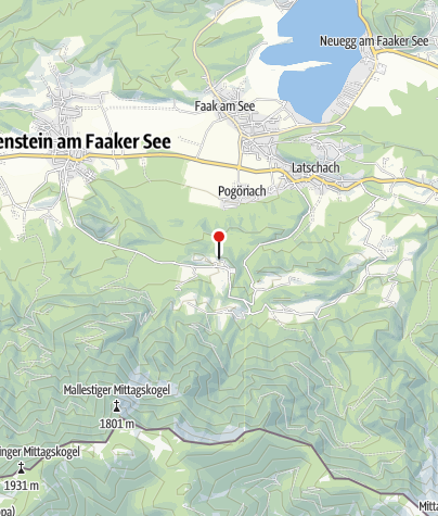 Karte / Burgarena Finkenstein