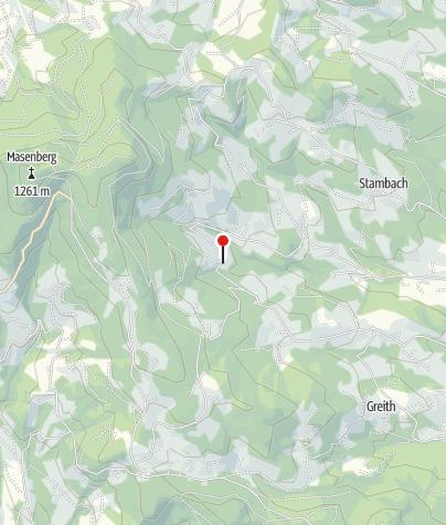 Karte / Landhaus Naturliebe im steirischen Land der Sinne