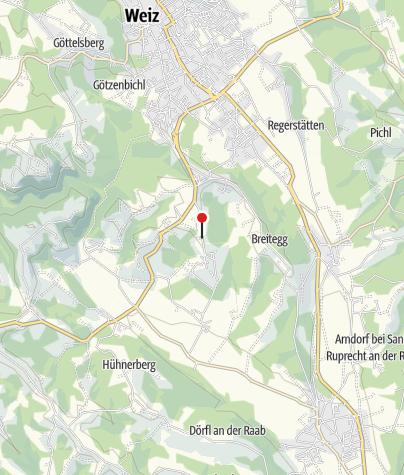 Karte / Gästehaus Rosenberg