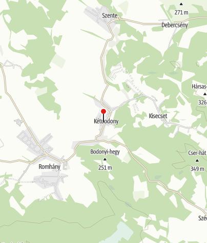 Térkép / Cserhát Erdei Iskola (Kétbodony)
