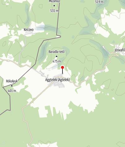Mapa / Kövirózsa Apartmanház