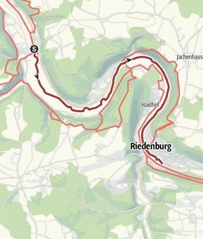 Karte / Fischerei- und Naturlehrpfad Riedenburg