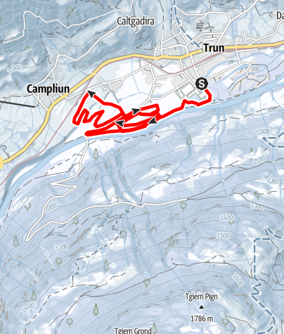 Map / Nachtloipe Trun