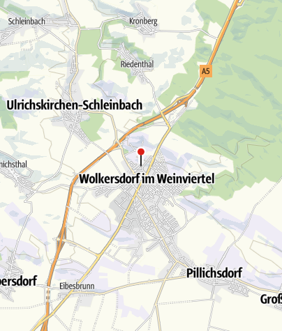Térkép / Kellergasse Wolkersdorf