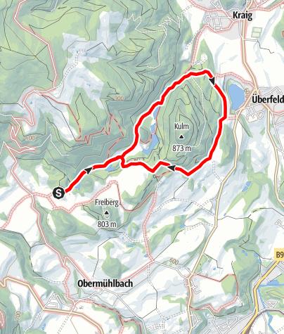 Karte / Rundweg Schloss Frauenstein - Kraiger See  (27)