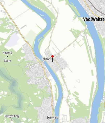 Mapa / Árpád turistaszálló
