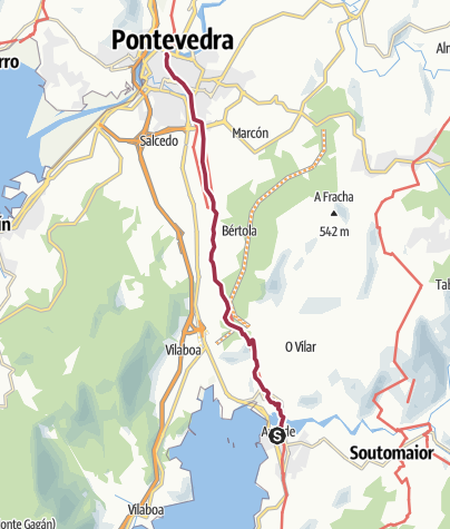 Map / Arcade to Pontevedra