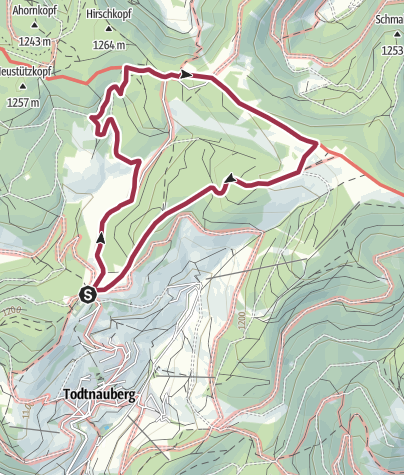 Karte / Familientour mit Grillvergnügen
