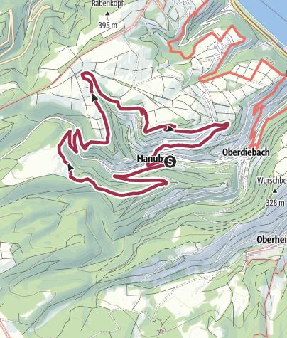 Map / St.-Oswald-Schleife