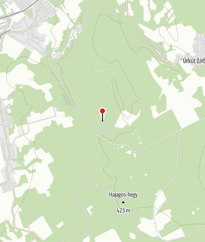 Mapa / Hubertus turistaszálló