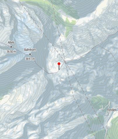 Kaart / Lötschenpasshütte