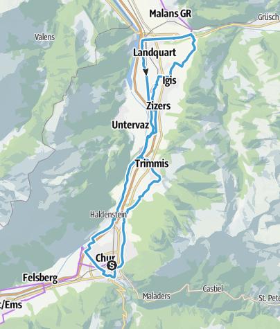 Map / Pleasure route Fünf Dörfer