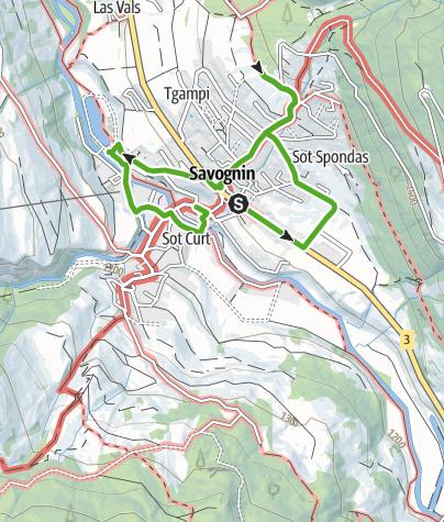 Karte / KrimiSpass Savognin